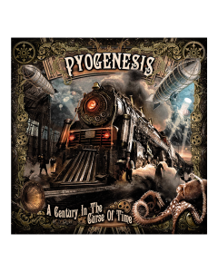 PYOGENESIS 'A Century In The Curse Of Time' DigiPak