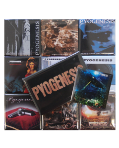 PYOGENESIS Fridge Magnet Set 'Discography 2020'
