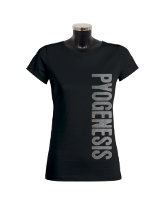 PYOGENESIS 'Metal Logo' Girlie black