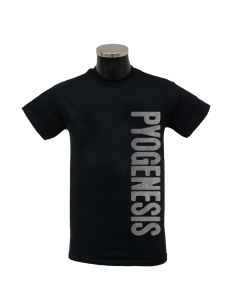 PYOGENESIS 'Metal Logo' T-Shirt black