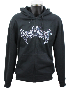 PYOGENESIS 'Logo 1991' Hooded Zipper black